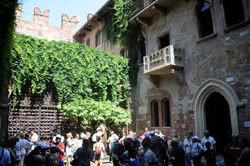 Verona, balkon van Julia